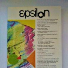 Libros de segunda mano de Ciencias: EPSILON. REVISTA DE LA SOCIEDAD ANDALUZA DE EDUCACIÓN MATEMÁTICA THALES Nº 39. Lote 211877313