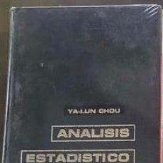 Libros de segunda mano de Ciencias: ÁNALISIS ESTADÍSTICO DE YA-LUN-CHOU.. Lote 212061325