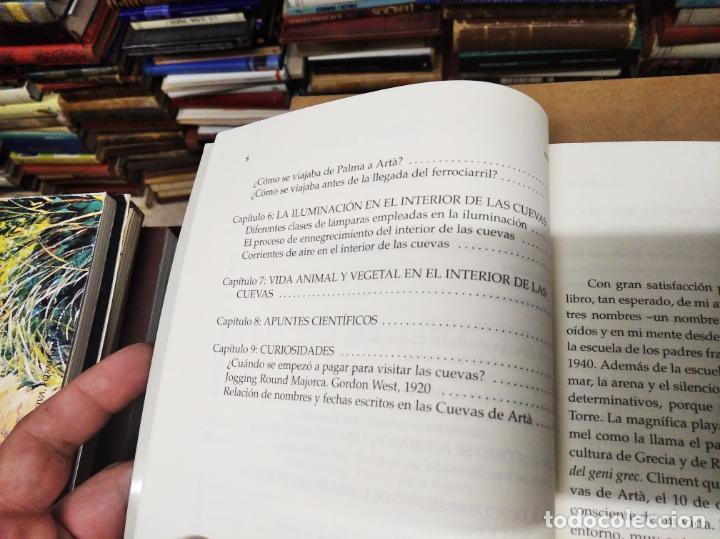 Libros de segunda mano: LAS CUEVAS DE ARTÀ . CLIMENT GARAU . EDICIONS DOCUMENTA BALEAR . 1ª EDICIÓN 2005 . MALLORCA - Foto 7 - 212153867