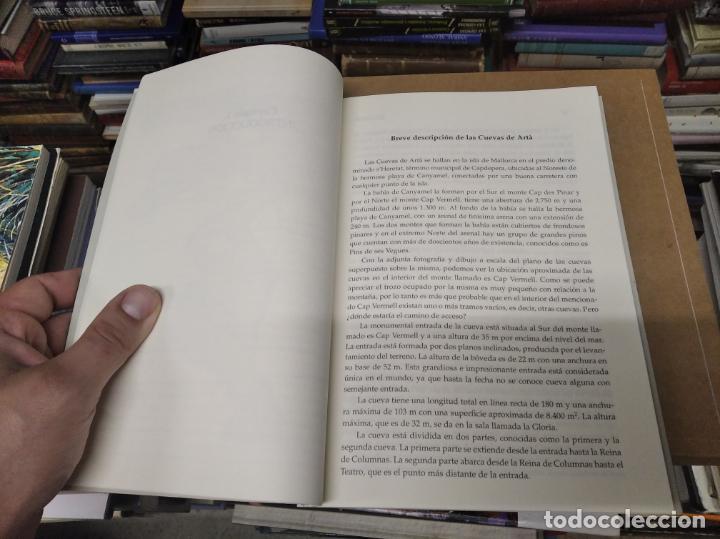 Libros de segunda mano: LAS CUEVAS DE ARTÀ . CLIMENT GARAU . EDICIONS DOCUMENTA BALEAR . 1ª EDICIÓN 2005 . MALLORCA - Foto 9 - 212153867
