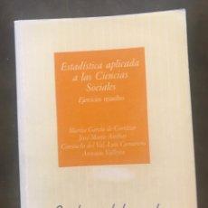 Libros de segunda mano de Ciencias: PSICOLOGÍA MATEMÁTICA I : EJERCICIOS RESUELTOS. Lote 212503523