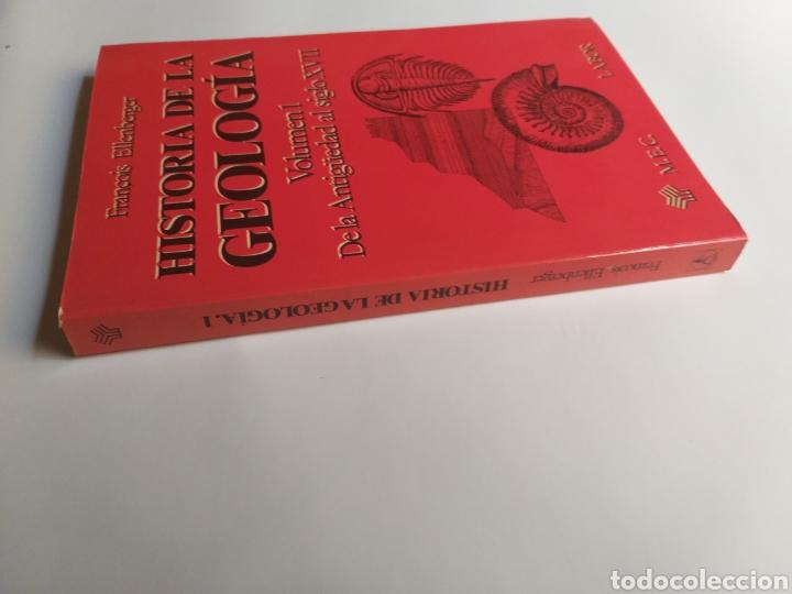 Libros de segunda mano: Historia de la geología . Volumen 1 de la antigüedad al siglo XVII . Francois Ellenberger - Foto 2 - 212620395