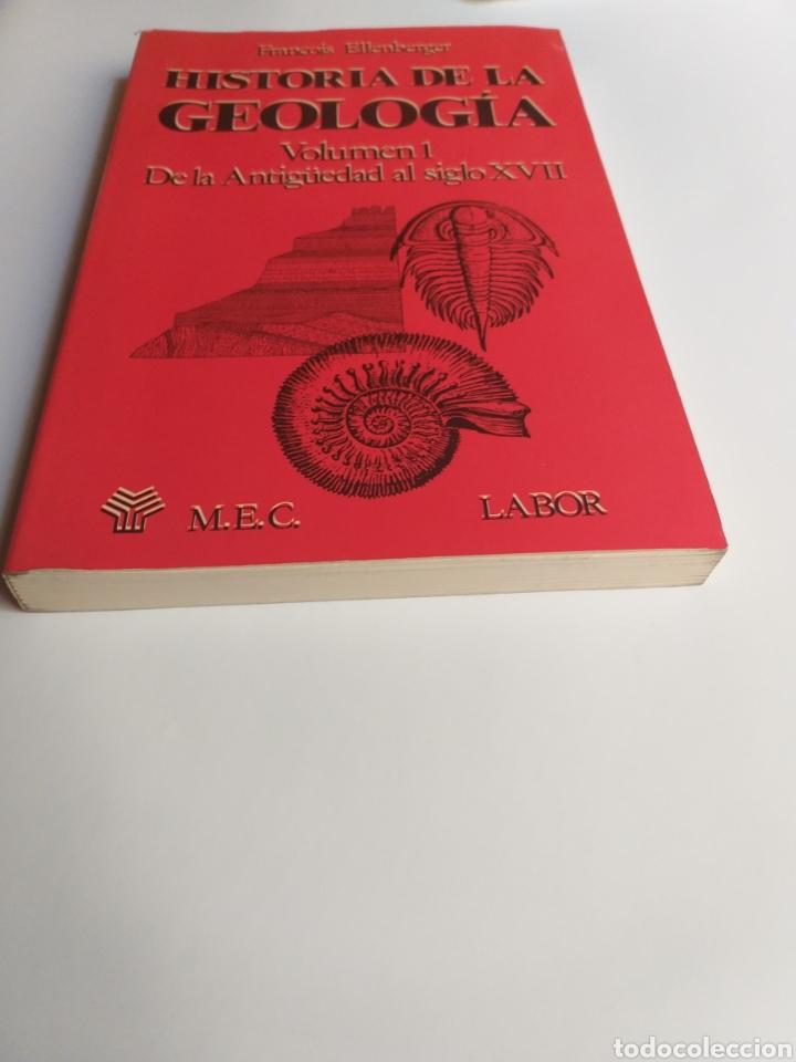Libros de segunda mano: Historia de la geología . Volumen 1 de la antigüedad al siglo XVII . Francois Ellenberger - Foto 3 - 212620395