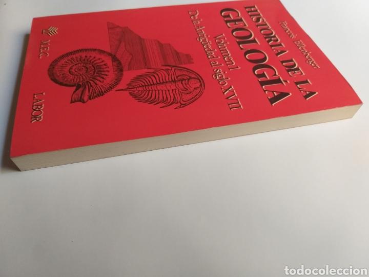 Libros de segunda mano: Historia de la geología . Volumen 1 de la antigüedad al siglo XVII . Francois Ellenberger - Foto 4 - 212620395