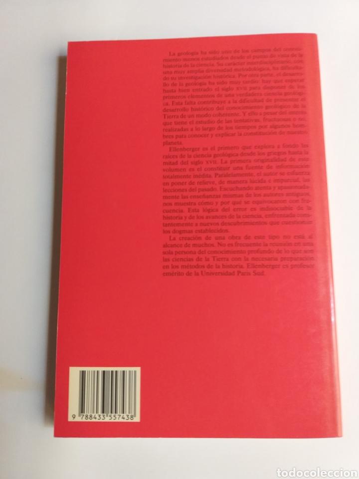Libros de segunda mano: Historia de la geología . Volumen 1 de la antigüedad al siglo XVII . Francois Ellenberger - Foto 5 - 212620395