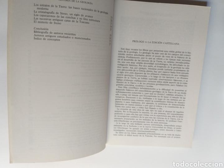 Libros de segunda mano: Historia de la geología . Volumen 1 de la antigüedad al siglo XVII . Francois Ellenberger - Foto 8 - 212620395