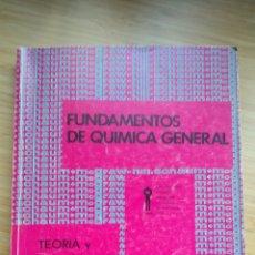 Libros de segunda mano de Ciencias: FUNDAMENTOS DE QUÍMICA GENERAL. SCHAUM. TEORÍA Y 1113 PROBLEMAS RESUELTOS - GUILLERMO GARZON. Lote 244537830