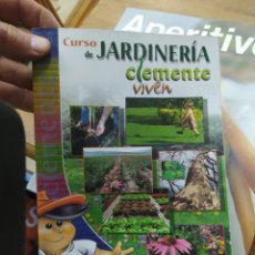 Livres d'occasion: CURSO DE JARDINERÍA CLEMENTE VIVEN. ART-878. Lote 213170723
