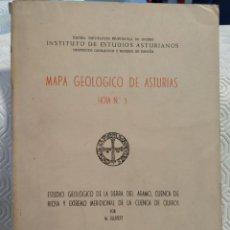 Livros em segunda mão: MAPA GEOLOGICO DE ASTURIAS. HOJA Nº 3. ESTUDIO GEOLOGICO DE LA SIERRA DEL ARAMO, CANCA DE RIOSA Y EX. Lote 213413206