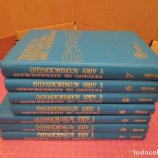 Libros de segunda mano de Ciencias: TRATADO DE REFRIGERACIÓN Y AIRE ACONDICIONADO - MARCOMBO - 7 TOMOS - TAPA DURA - CARRIER Y OTROS. Lote 213592232