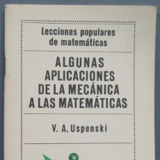 Libros de segunda mano de Ciencias: APLICACIÓN DE LA MECANICA A LA GEOMETRICA. KOGAN. Lote 214044222