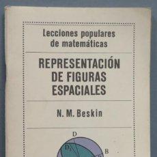 Libros de segunda mano de Ciencias: REPRESENTACION DE FIGURAS ESPACIALES. BESKIN. Lote 214044271