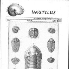 Livros em segunda mão: NAUTILUS REVISTA DE DIVULGACION PALEONTOLOGICA AÑO -7 Nº 6 2-10--2011 DE. Lote 214346485