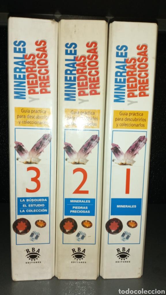Libros de segunda mano: 3 FICHEROS.MINERALES Y PIEDRAS PRECIOSAS.RBA 1993. - Foto 3 - 214417417