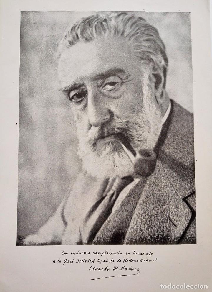 Libros de segunda mano: 1954 Boletín Extraordinario Historia Natural Real Sociedad Española - Eduardo Hernández Pacheco - Foto 5 - 49264461