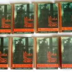 Libri di seconda mano: LA ESCUELA DEL TECNICO MECANICO - 8 VOLUMENES. COLECCION COMPLETA - EDITORIAL LABOR. Lote 214866256