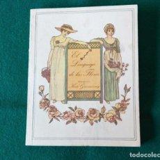 Livres d'occasion: EL LENGUAJE DE LAS FLORES - ILUSTRADO POR KATE GREENAWAY - CIRCULO DE LECTORES - AÑO 1983. Lote 215491020
