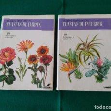 Libros de segunda mano: EL GRAN LIBRO DE LAS PLANTAS DE JARDÍN - EL GRAN LIBRO DE LAS PLANTAS DE INTERIOR - SUSAETA - 1989. Lote 215504987