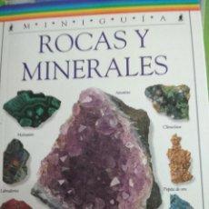 Livres d'occasion: MINERALES Y ROCAS. MINIGUIA. EDIT. MOLINO.. Lote 215545266