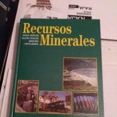 Libros de segunda mano: RECURSOS MINERALES - BUSTILLO Y LÓPEZ JIMENO. Lote 215759247