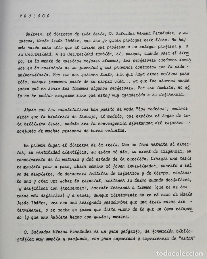 Libros de segunda mano: Mª Jesús Ibañez. El Piedemonte Ibérico Bajoaragonés. Estudio Geomorfológico y Mapas (2 Tomos), 1976 - Foto 4 - 215947432