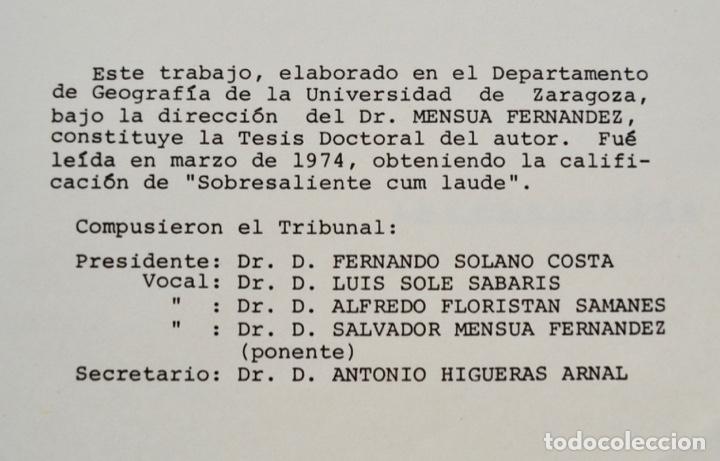 Libros de segunda mano: Mª Jesús Ibañez. El Piedemonte Ibérico Bajoaragonés. Estudio Geomorfológico y Mapas (2 Tomos), 1976 - Foto 5 - 215947432