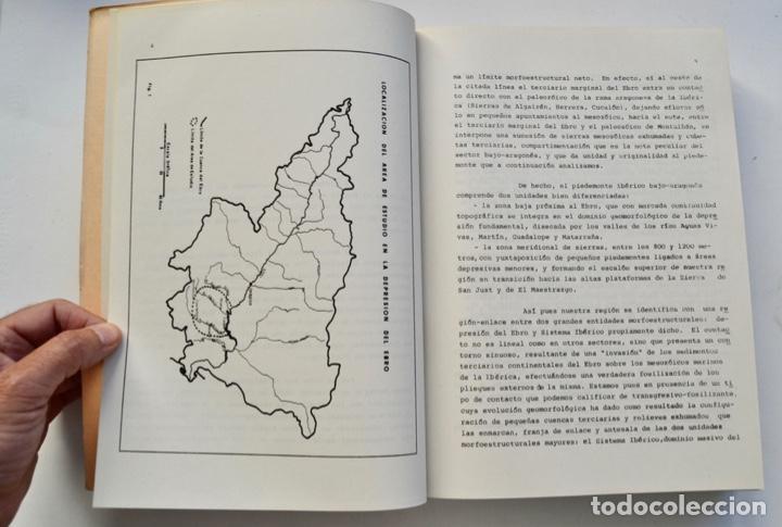 Libros de segunda mano: Mª Jesús Ibañez. El Piedemonte Ibérico Bajoaragonés. Estudio Geomorfológico y Mapas (2 Tomos), 1976 - Foto 7 - 215947432
