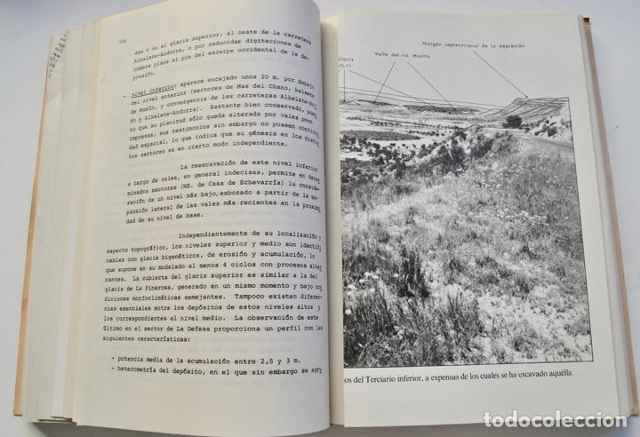 Libros de segunda mano: Mª Jesús Ibañez. El Piedemonte Ibérico Bajoaragonés. Estudio Geomorfológico y Mapas (2 Tomos), 1976 - Foto 12 - 215947432