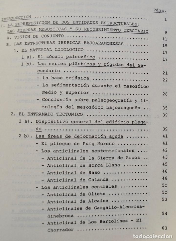 Libros de segunda mano: Mª Jesús Ibañez. El Piedemonte Ibérico Bajoaragonés. Estudio Geomorfológico y Mapas (2 Tomos), 1976 - Foto 16 - 215947432