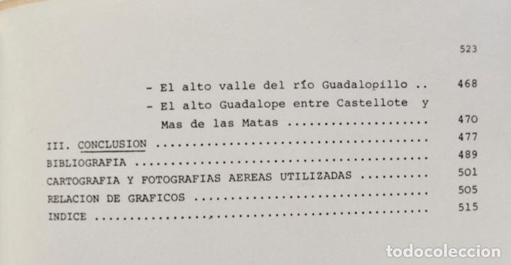 Libros de segunda mano: Mª Jesús Ibañez. El Piedemonte Ibérico Bajoaragonés. Estudio Geomorfológico y Mapas (2 Tomos), 1976 - Foto 22 - 215947432