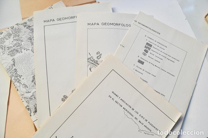 Libros de segunda mano: Mª Jesús Ibañez. El Piedemonte Ibérico Bajoaragonés. Estudio Geomorfológico y Mapas (2 Tomos), 1976 - Foto 27 - 215947432