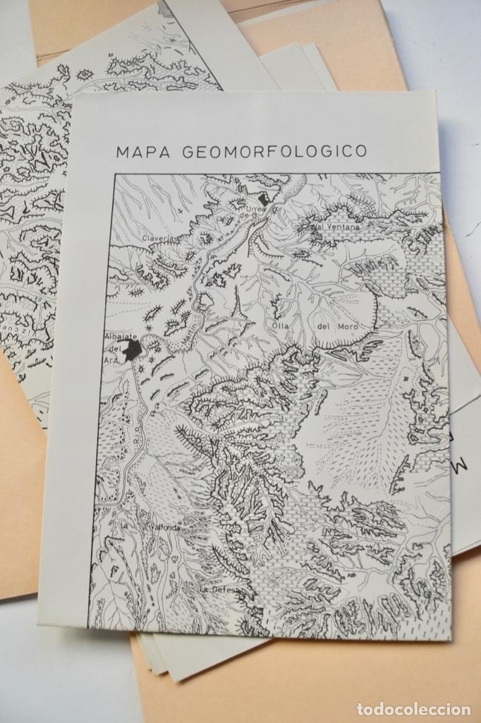 Libros de segunda mano: Mª Jesús Ibañez. El Piedemonte Ibérico Bajoaragonés. Estudio Geomorfológico y Mapas (2 Tomos), 1976 - Foto 28 - 215947432