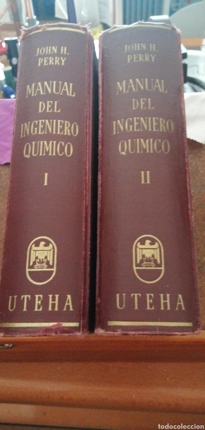 Libros de segunda mano de Ciencias: JONH H. PERRY MANUAL DEL INGENIERO QUÍMICO AÑO 1958 - Foto 2 - 216459256