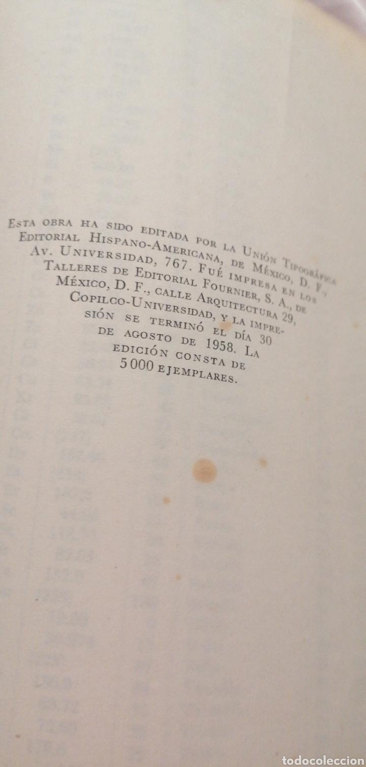 Libros de segunda mano de Ciencias: JONH H. PERRY MANUAL DEL INGENIERO QUÍMICO AÑO 1958 - Foto 6 - 216459256
