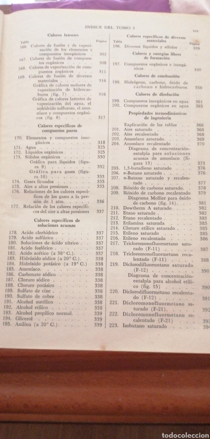 Libros de segunda mano de Ciencias: JONH H. PERRY MANUAL DEL INGENIERO QUÍMICO AÑO 1958 - Foto 11 - 216459256