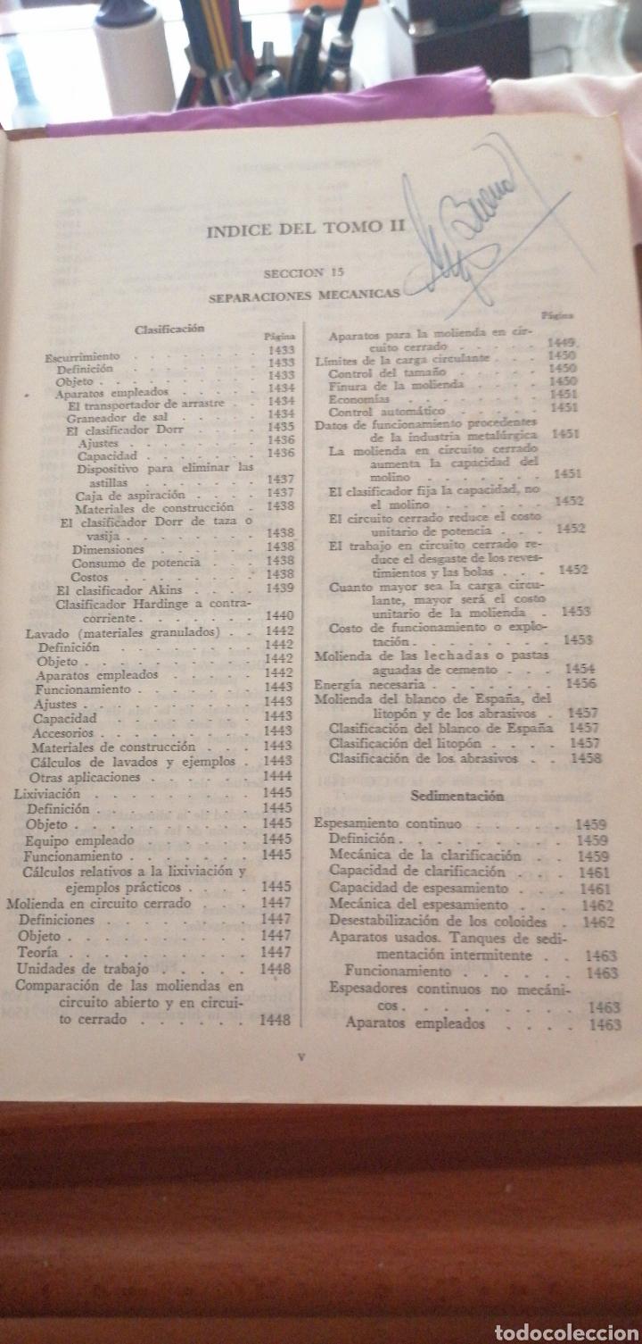 Libros de segunda mano de Ciencias: JONH H. PERRY MANUAL DEL INGENIERO QUÍMICO AÑO 1958 - Foto 12 - 216459256