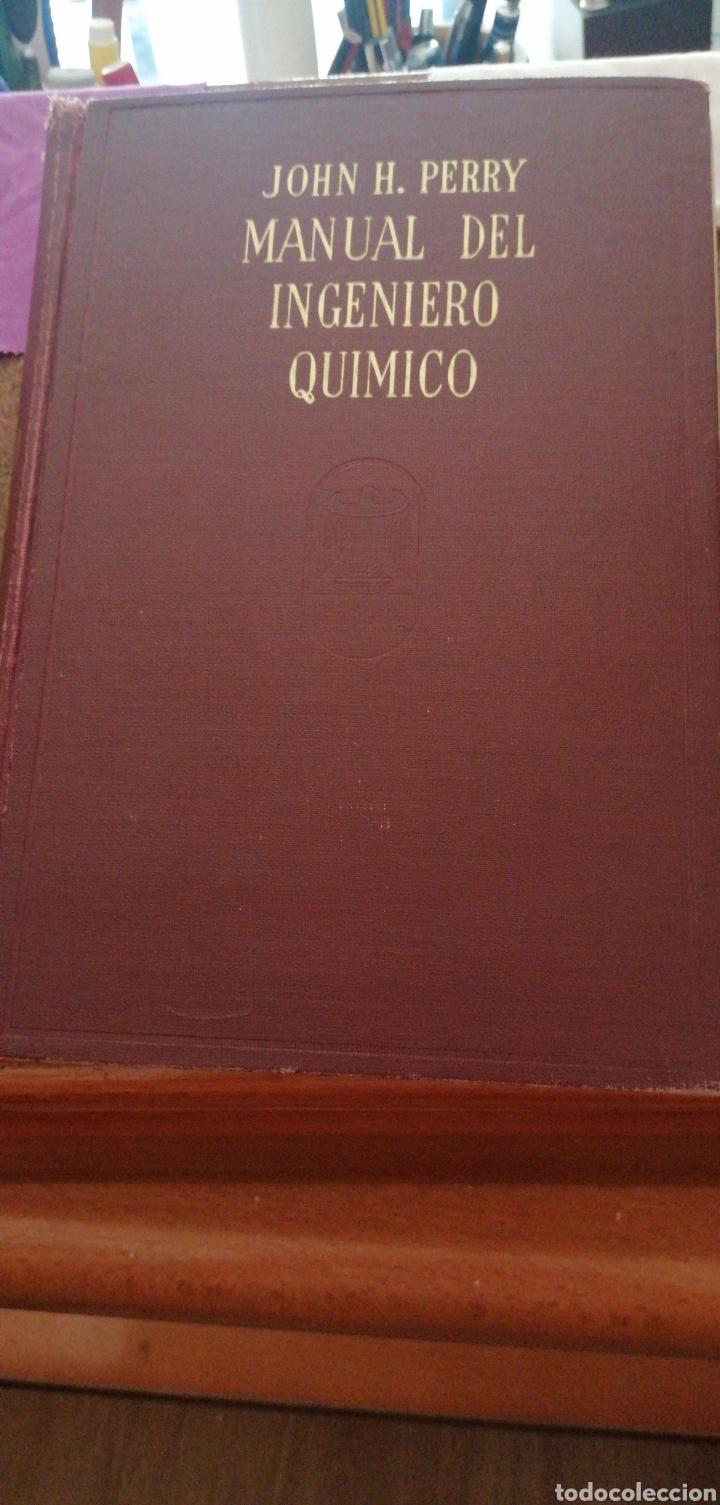 JONH H. PERRY MANUAL DEL INGENIERO QUÍMICO AÑO 1958 (Libros de Segunda Mano - Ciencias, Manuales y Oficios - Física, Química y Matemáticas)