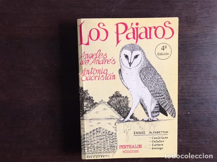 LOS PÁJAROS. ÁNGELES DE ANDRÉS (Libros de Segunda Mano - Ciencias, Manuales y Oficios - Biología y Botánica)