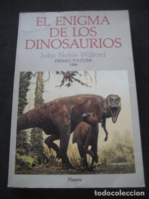 EL ENIGMA DE LOS DINOSAURIOS. FOSILES, PALEONTOLOGIA (Libros de Segunda Mano - Ciencias, Manuales y Oficios - Paleontología y Geología)