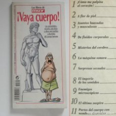 Libros de segunda mano: VAYA CUERPO LIBRO MUY INTERESANTE CIENCIAS HUMANO CURIOSIDADES CIFRAS INSÓLITAS BIOLOGÍA SER CEREBRO. Lote 216803828
