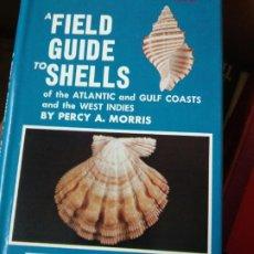 Libri di seconda mano: FIELD GUIDE TO SHELLS OF THE ATLANTIC (PETERSON FIELD GUIDES) MORRIS, PERCY A. CONCHAS. Lote 216862256