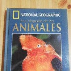 Libros de segunda mano: ENCICLOPEDIA DE LOS ANIMALES. AVES IV (NATIONAL GEOGRAPHIC) INCLUYE DVD. Lote 217030200