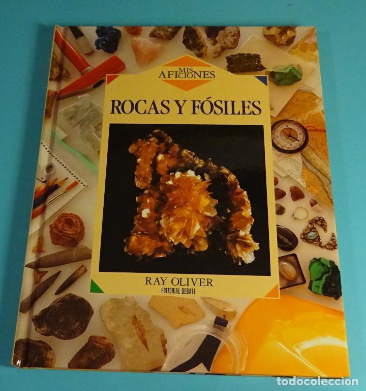 ROCAS Y FÓSILES. RAY OLIVER. EDITORIAL DEBATE. MADRID. 1993 (Libros de Segunda Mano - Ciencias, Manuales y Oficios - Paleontología y Geología)