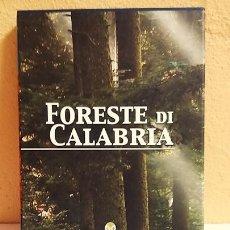Libros de segunda mano: FORESTE DI CALABRIA, LIBRO EN ITALIANO,(BOSQUES DE CALABRIA). Lote 217358128