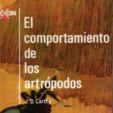 Libros de segunda mano: CARTHY . EL COMPORTAMIENTO DE LOS ARTRÓPODOS (ALHAMBRA, 1968). Lote 217436461