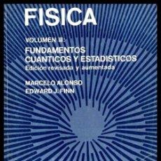 Libros de segunda mano de Ciencias: FISICA III. FUNDAMENTOS CUANTICOS Y ESTADISTICOS. 3.000 EJEMPLARES. ED. PEGASO MEXICO 1977.. Lote 217437703