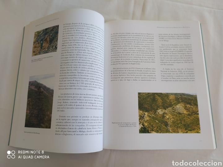 Libros de segunda mano: MINERALES Y ROCAS DE LA PROVINCIA DE MÁLAGA. JUAN CARLOS ROMERO SILVA. - Foto 7 - 217514845