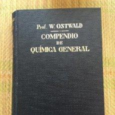 Libri di seconda mano: COMPENDIO DE QUIMICA GENERAL - W. OSTWALD - MANUEL MARIN EDITOR. Lote 217780096