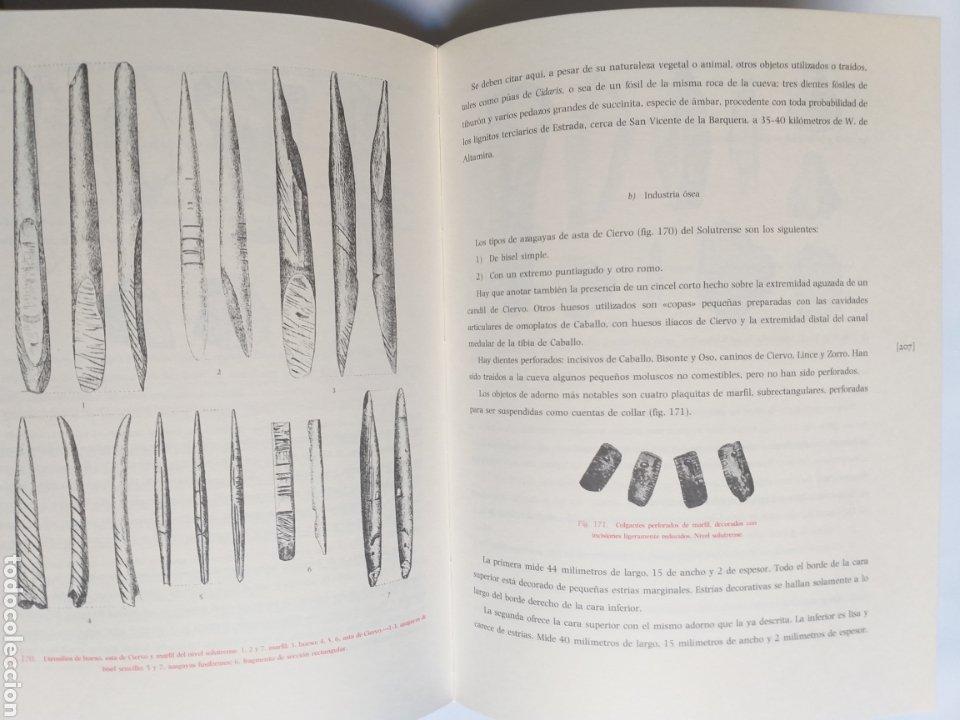 Libros de segunda mano: La cueva de Altamira en Santillana del Mar por el abate Enrique Breuil . Edición 1984 Cantabria - Foto 11 - 217875805