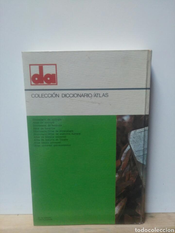 Libros de segunda mano: Diccionario Atlas de Minerologia. - Foto 2 - 217914930